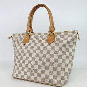 Louis Vuitton Damier Azur Saleya PM Zip Tote 86011